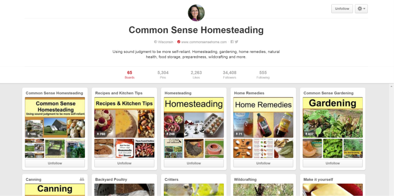 Common Sense Homesteading - Porch - Pinners