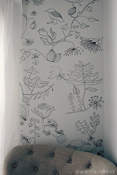Owen's Olivia - Porch - wallpaper alternatives