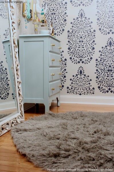 Royal Design Studio - Porch - wallpaper alternatives
