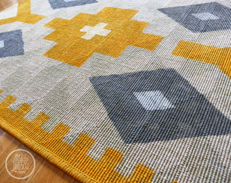The Gold Jelly Bean - Porch - DIY rugs